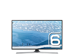 Samsung UHD 4K Flat Smart TV KU6000