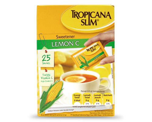 Tropicana SLim Sweetener Lemon-C