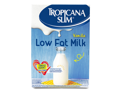 Tropicana Slim Low Fat Milk Vanilla