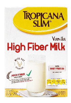 Tropicana Slim Susu High Fiber Vanilla