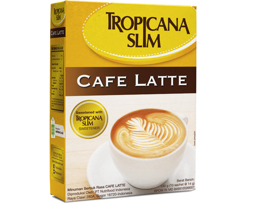 Tropicana Slim Tropicana Cafe Latte