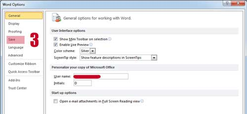 Word Options Save - Mengganti Format Penyimpanan File MS Word